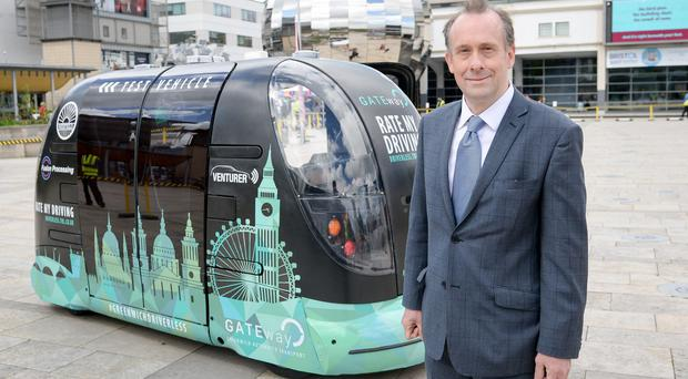 Transport Minister Lord Callanan said fully self-driving cars will be widely available