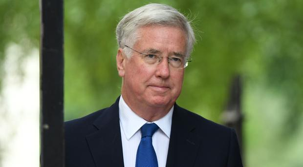 Sir Michael Fallon has no interest in becoming Prime Minister (Stefan Rousseau/PA)