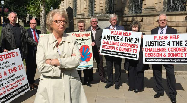 A crowdfunding appeal to raise money for the Birmingham pub bombings campaigners has raised two thirds of its target (Richard Vernalls/PA)