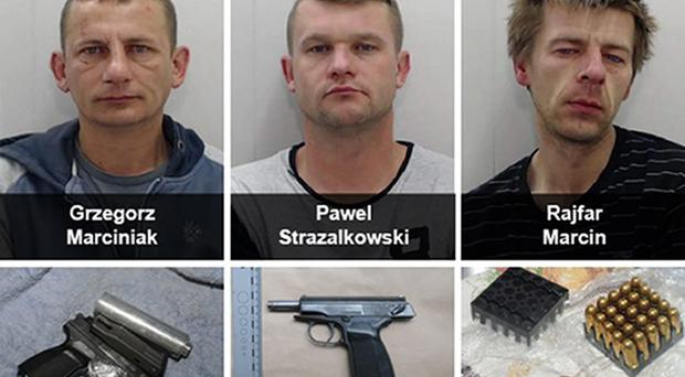 Three drug dealers have been jailed in a crackdown on gun crime across Manchester (PA Picture desk)