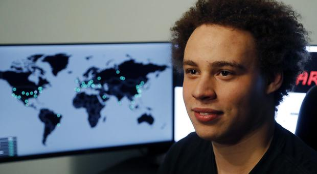 Marcus Hutchins was branded a hero for slowing down the WannaCry global cyberattack (Frank Augstein/AP