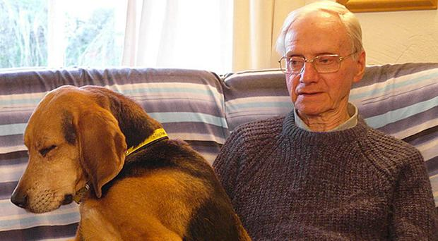 Peter Wrighton was repeatedly stabbed in the neck and head while walking his dogs near East Harling (Norfolk Police/PA)