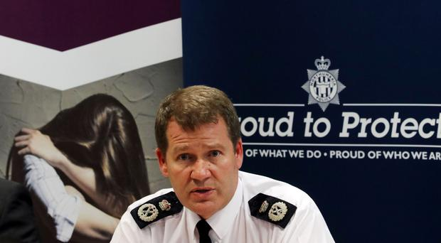 Northumbria Police Chief Constable Steve Ashman during a press conference in Newcastle (Owen Humphreys/PA)