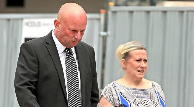 Paul Roberts, his partner Deborah Briton and her daughter Charlene Briton will go on trial next year (Peter Byrne/PA)