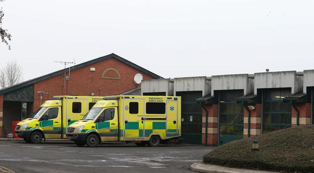 The thefts occurred at ambulance stations (Lynne Cameron/PA)