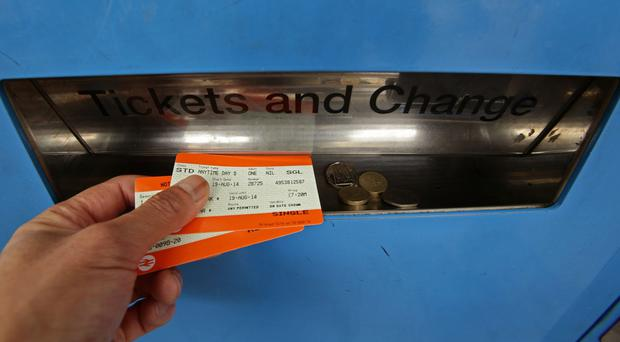 Rail passengers will find out how much extra they will be charged from the new year (Yui Mok/PA)