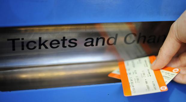 Rail passengers will see fares rise by 3.6% when price changes come into force in the new year (Lauren Hurley/PA)