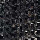 The blackened shell of Grenfell Tower (Lauren Hurley/PA)