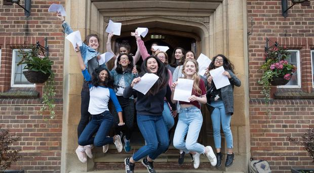 A-level results have risen for the first time in six years (Aaron Chown/PA)