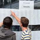 MLA's congratulate students as they receive their AS and A Levels today