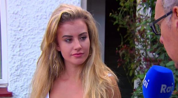 Chloe Ayling is believed to have been snatched by a group calling itself Black Death (AP)