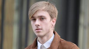 Charlie Alliston arrives at the Old Bailey (John Stillwell/PA)