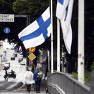 A suspect has been detained by Finnish police (Vesa Moilanen/AP)
