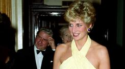 Diana at the Royal Gala Performance of Verdi's Othello at the Royal Opera House (Martin Keene/PA)