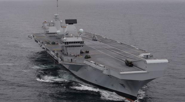 A Royal Navy-led task force has seized drugs worth nearly £400m (Stefan Rousseau/PA)
