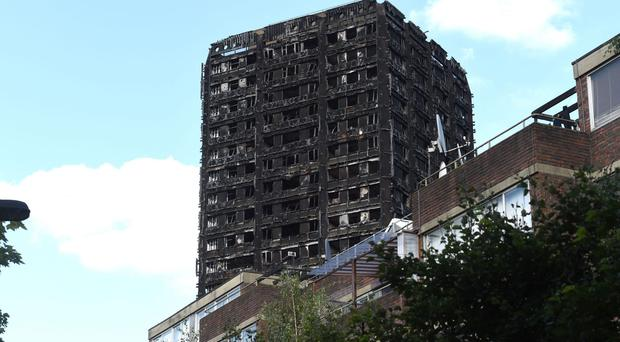 Cladding samples from 22 towers fail safety checks launched after Grenfell blaze (Lauren Hurley/PA)