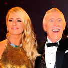 Tess Daly and Bruce Forsyth
