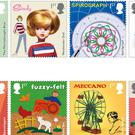 A new set of stamps featuring some much-loved British toys from the last 100 years (Royal Mail/PA)