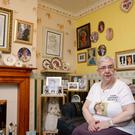 Diana super-fan Jo Dobson has lent some of her collection to the Gloucester Life Museum (Ben Birchall/PA)