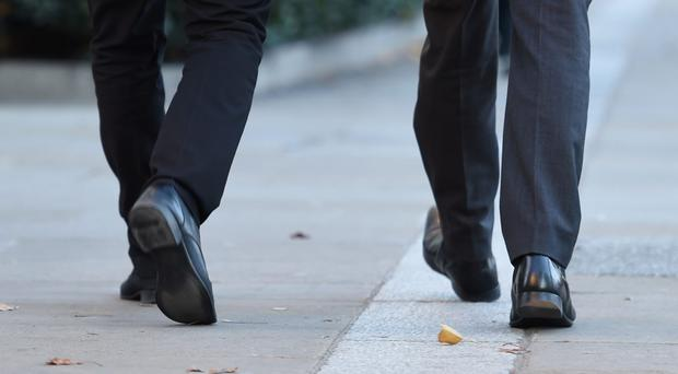 Health leaders are encouraging people to walk more (Kirsty O'Connor/PA)