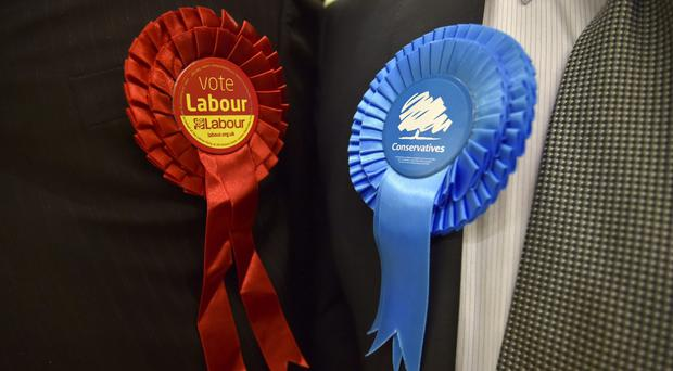 The Conservatives received well more than twice the amount Labour was given in donations (Hannah McKay/PA)