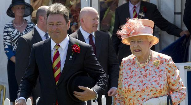 Alan Titchmarsh is opposing the road-widening scheme threatening Wisley Gardens where a tree planted by the Queen is located (Arthur Edwards/The Sun/PA)
