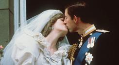Original footage from Charles and Diana's wedding has been restored (AP)