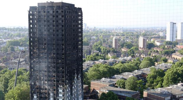 People affected by the Grenfell Tower fire are receiving help thanks to fundraising (Rick Findler/PA)