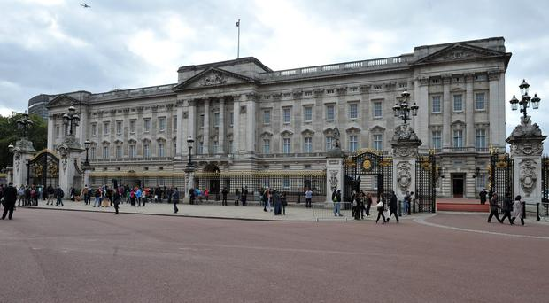 The man was arrested outside Buckingham Palace (Nick Ansell/PA)