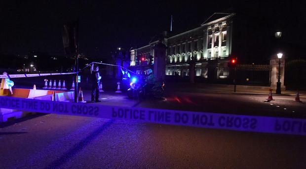 The incident took place outside Buckingham Palace (Lauren Hurley/PA)