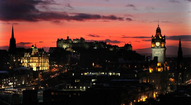 Most would visit Edinburgh given more free time (Andrew Milligan/PA)