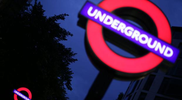 There has been a surge in the number of homeless people sleeping on public transport in London (Yui Mok/PA)