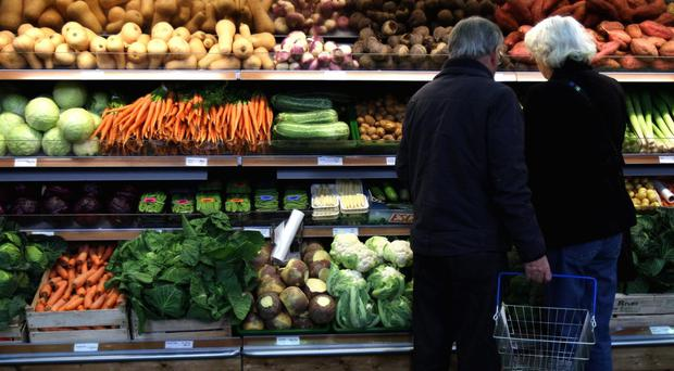 Fruit and vegetable prices are protecting consumers from inflation, according to new figures (Chris Radburn/PA)