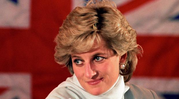 Diana, Princess of Wales (PA)