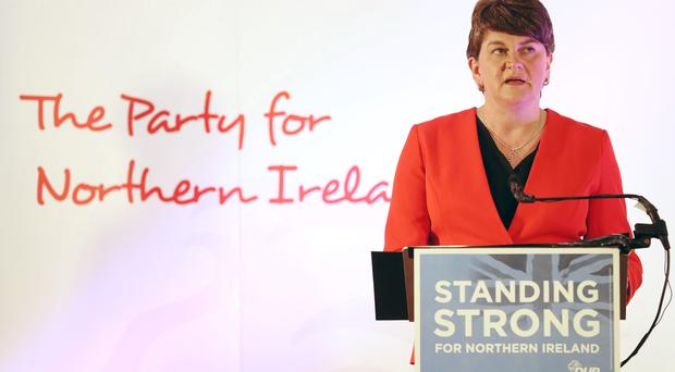 DUP leader Arlene Foster said she was making a 'common sense' offer (Brian Lawless/PA)
