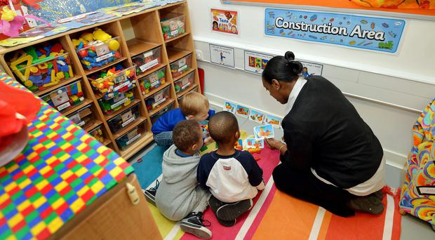 The New Economics Foundation said nurseries would have to pay staff less than the minimum wage to break even without passing on costs for the plan (John Stillwell/PA)