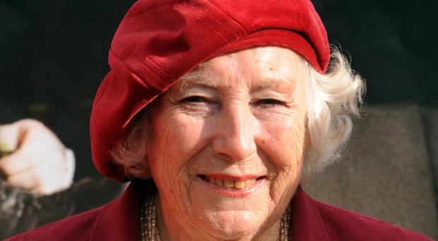 Dame Vera Lynn, who has pledged her support to a fundraising appeal for the White Cliffs of Dover (Zak Hussein/PA)