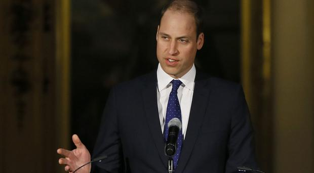 The Duke of Cambridge has pledged to raise awareness of the mental health issues facing first responders (Kirsty Wigglesworth/PA)