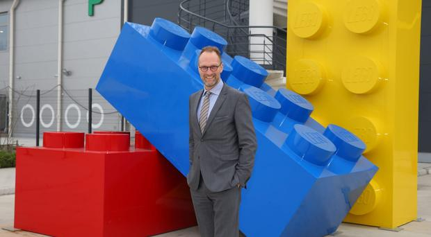 Lego has announced 1,400 jobs are to go amid falling sales (Lego/PA)