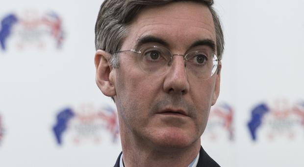 Jacob Rees-Mogg insists he does not want to be the Conservative Party's next leader (Lauren Hurley/PA)