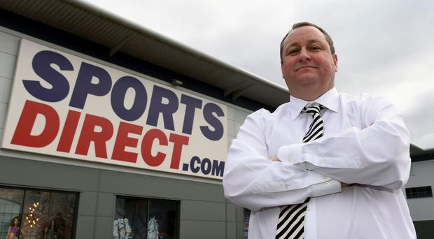 Mike Ashley believes Sports Direct is on track to become the Selfridges of sport (Joe Giddens/PA)