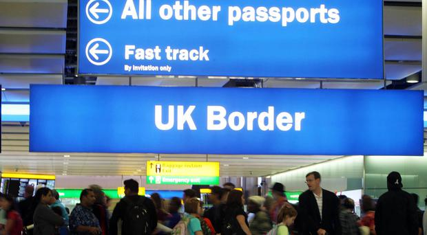 Post-Brexit draft migration proposals have been leaked (Steve Parsons/PA)