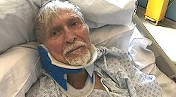 Ahmet Dobran suffered a broken back after being attacked by thugs (Metropolitan Police/PA)
