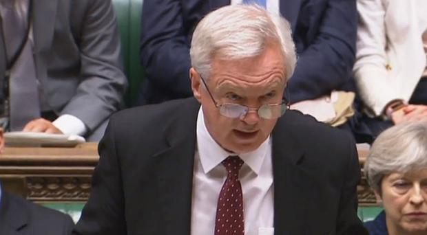 Brexit Secretary David Davis accused Labour of trying to sabotage the
