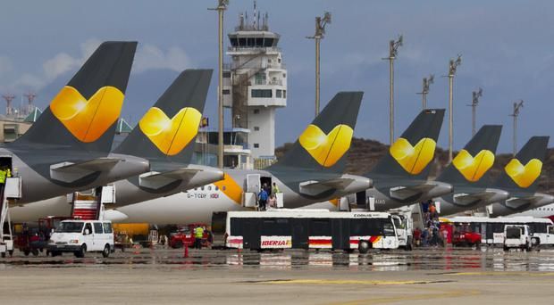 Pilots are starting their 12-hour strike at 3am (Thomas Cook/PA)