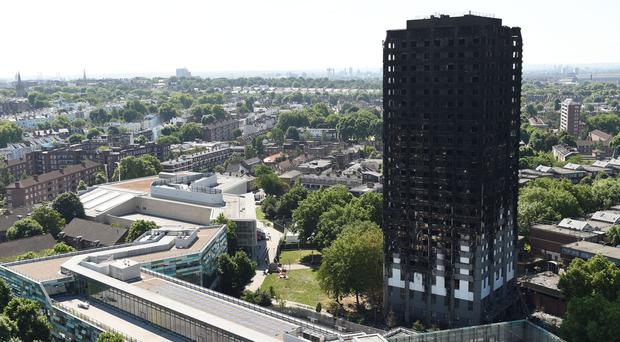 Shelter called for a review of housing laws following June's fire (David Mirzoeff/PA)