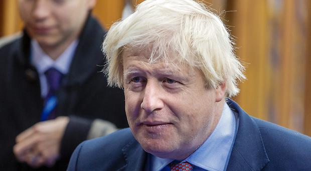 Voting against Brexit bill will cause chaos warns Boris Johnson (Arno Mikkor/AP)