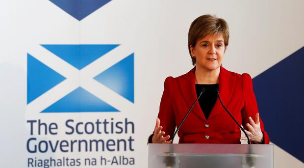 Nicola Sturgeon wants a cross-party consensus to ensure Brexit does not derail devolution in Scotland (Russell Cheyne/PA)