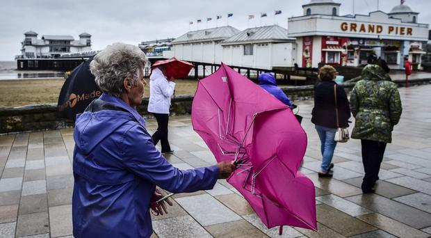 Northern Ireland will be spared the first named storm to hit the UK this year, forecasters have said, as England and Wales prepare to be battered. (Ben Birchall/PA)