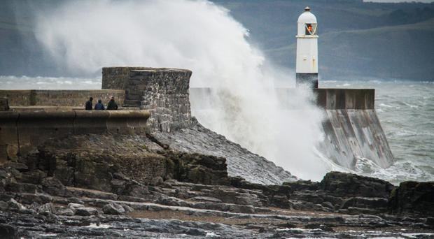 Travel warnings issued as Storm Aileen batters UK (Ben Birchall/PA)